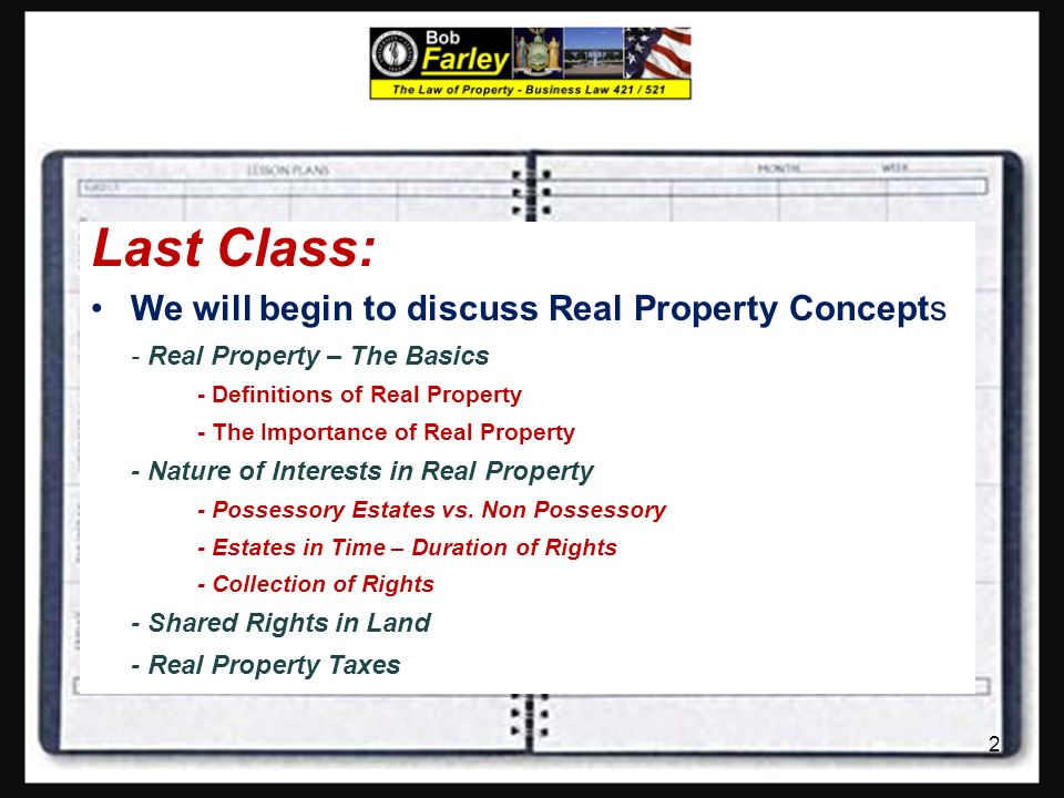 law of limitation for property