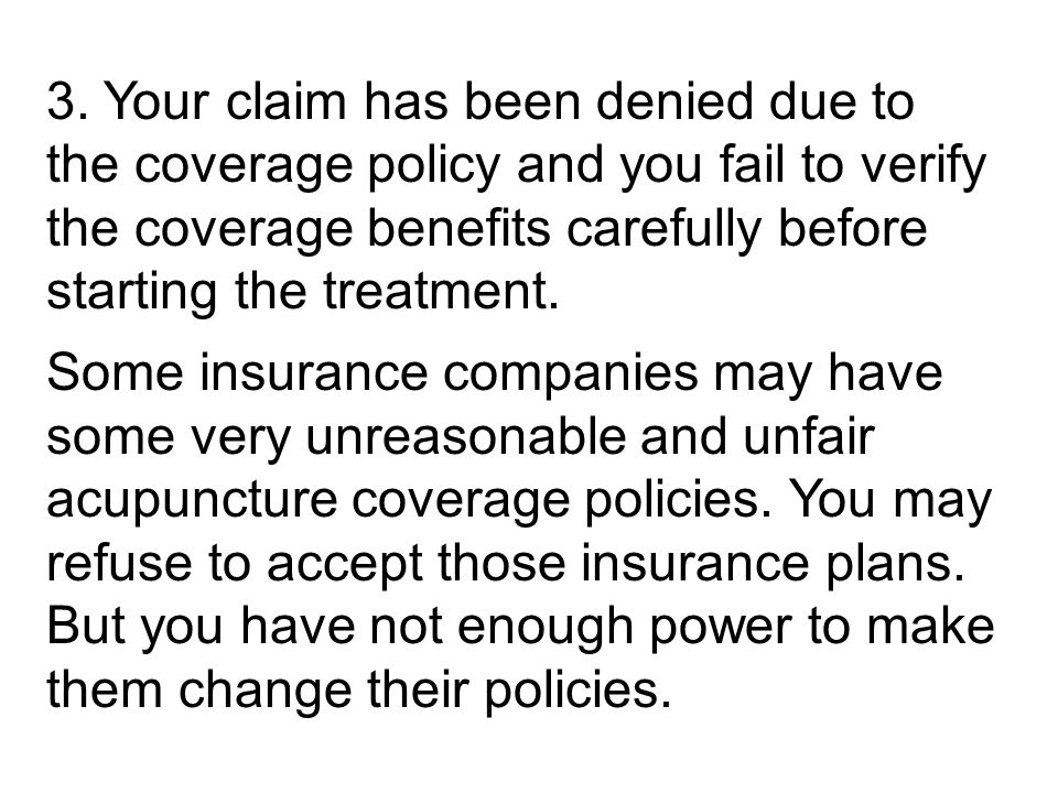 How to deal with insurance carrier for a denied or mishandled claim 44 3 spiritdancerdesigns Images