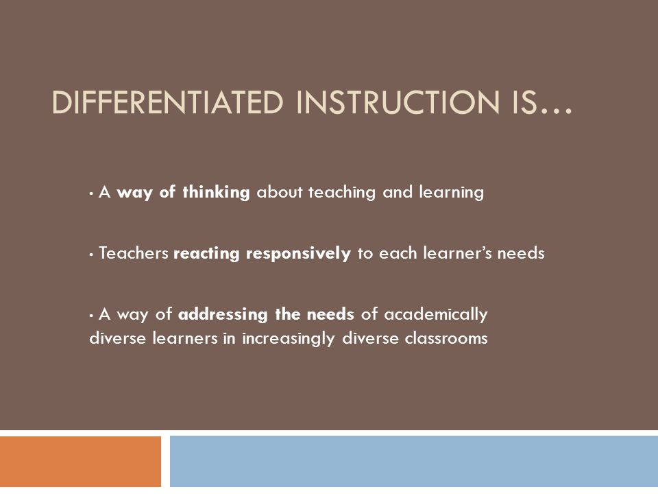 Whatever It Takes Differentiated Instruction Feb 2010 Dawn Holden