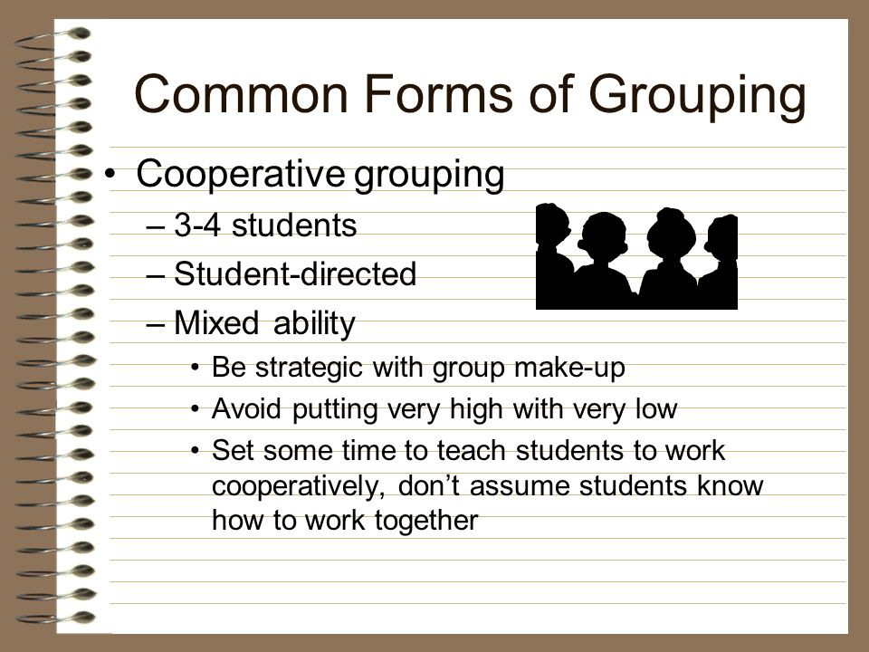 What Are Different Types of Flexible Grouping.
