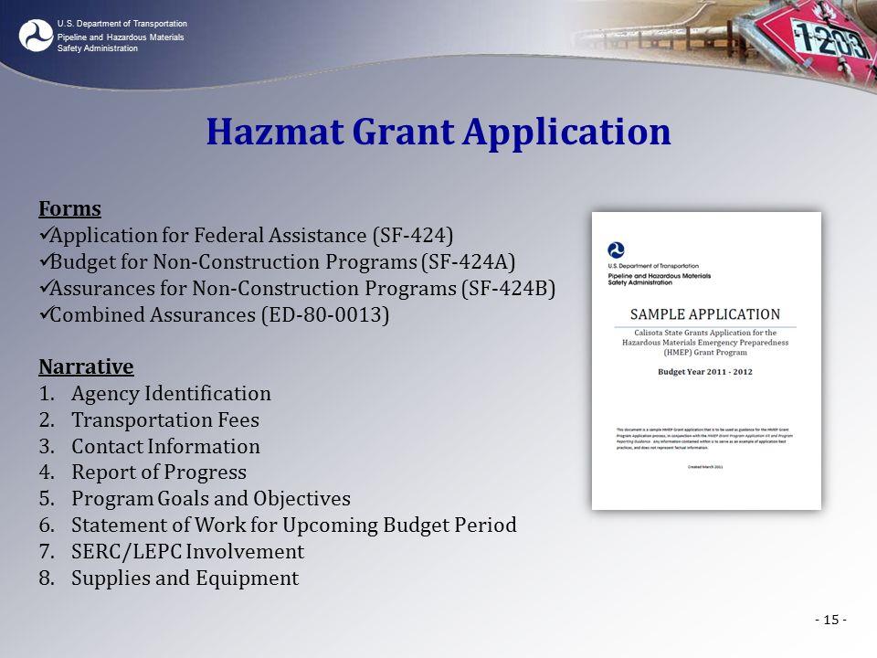 Us Department Of Transportation Pipeline And Hazardous Materials