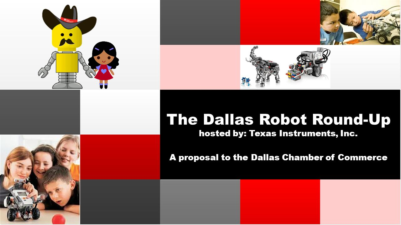 The dallas robot round up hosted by texas instruments inc a the dallas robot round up hosted by texas instruments inc malvernweather Choice Image