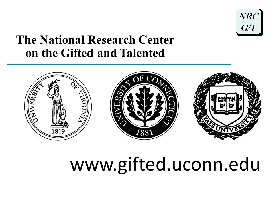 gifted and talented research