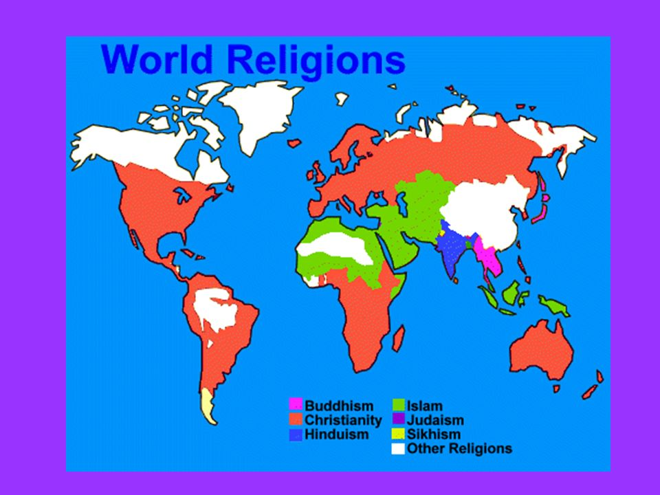 The Five Major Religions Of The World Ppt Download