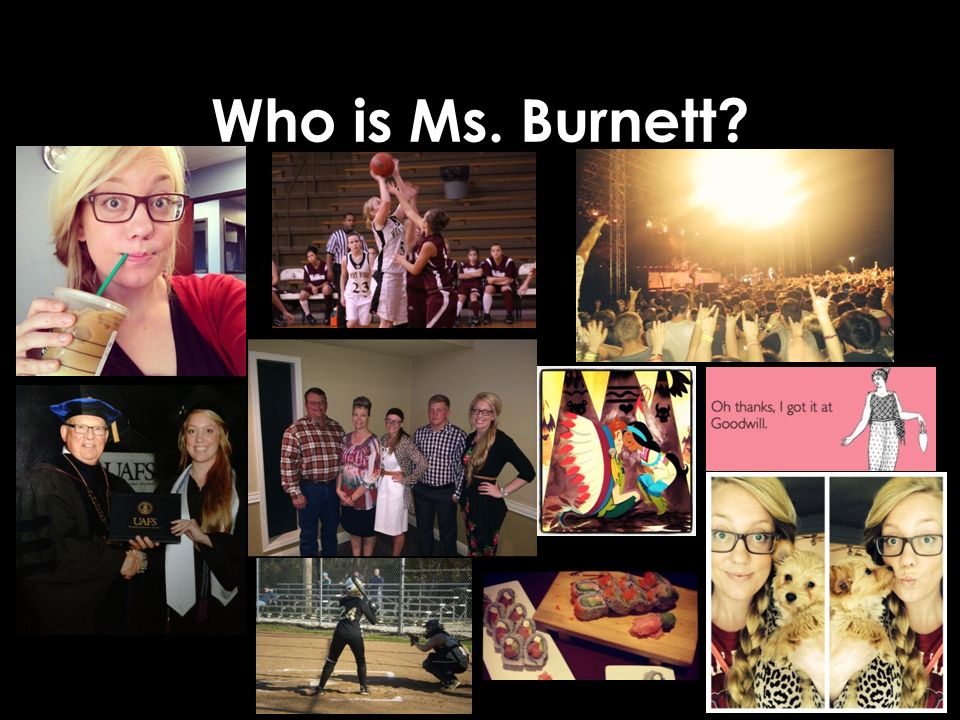 Who is Ms. Burnett