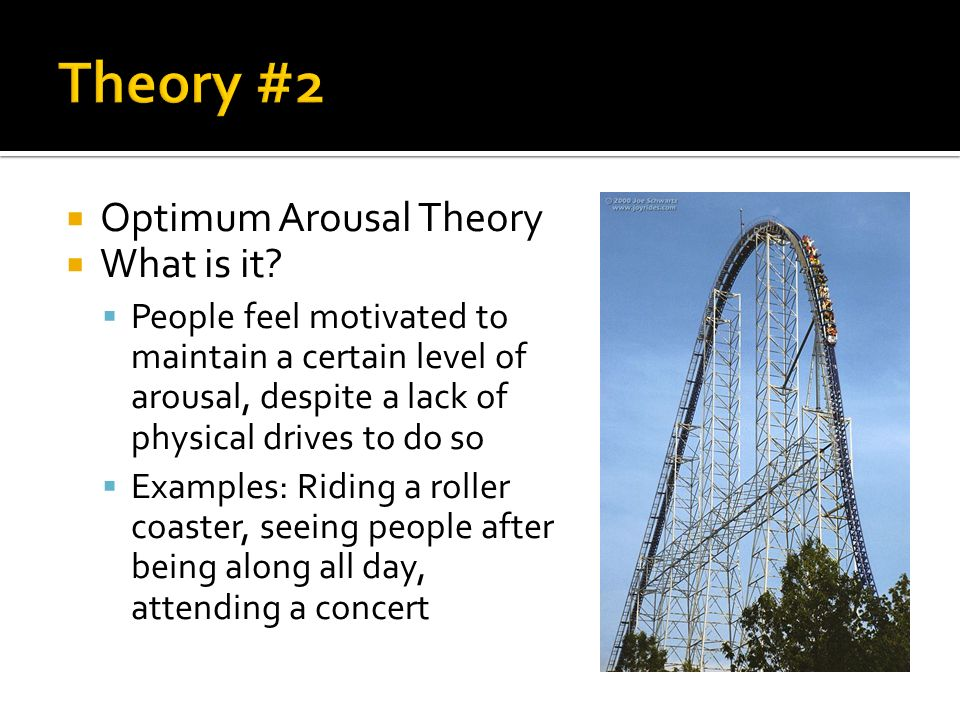  Optimum Arousal Theory  What is it.