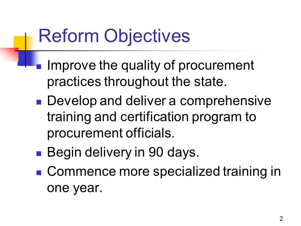 Procurement & Contracting Officer Meeting Statewide Training ...