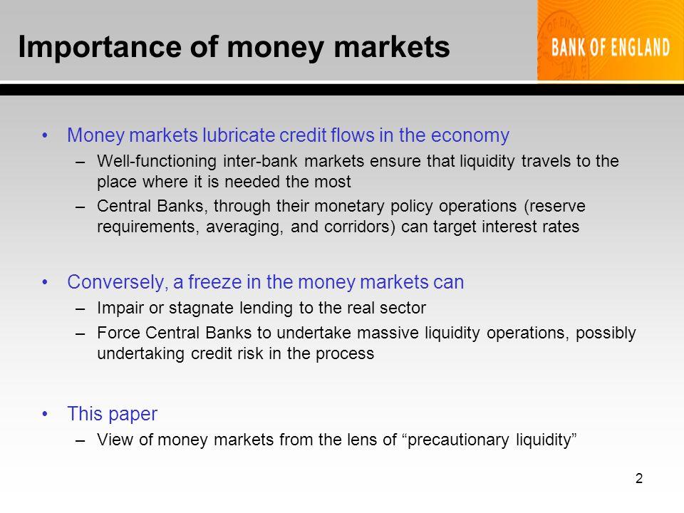 1 Precautionary Hoarding of Liquidity and Inter-Bank Markets ...