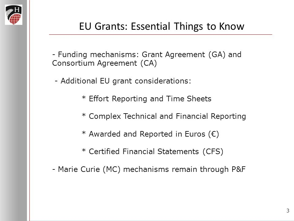 Eu Grants Essential Things To Know How Are Eu Grants Different