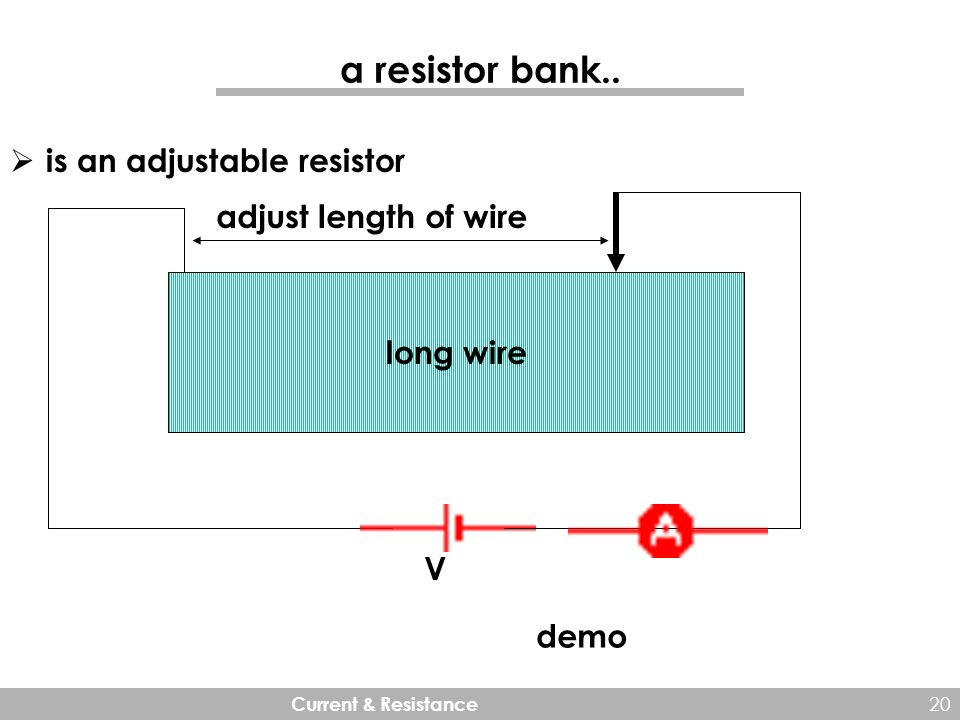 Current & Resistance. 2 Electric current So far we have studied ...