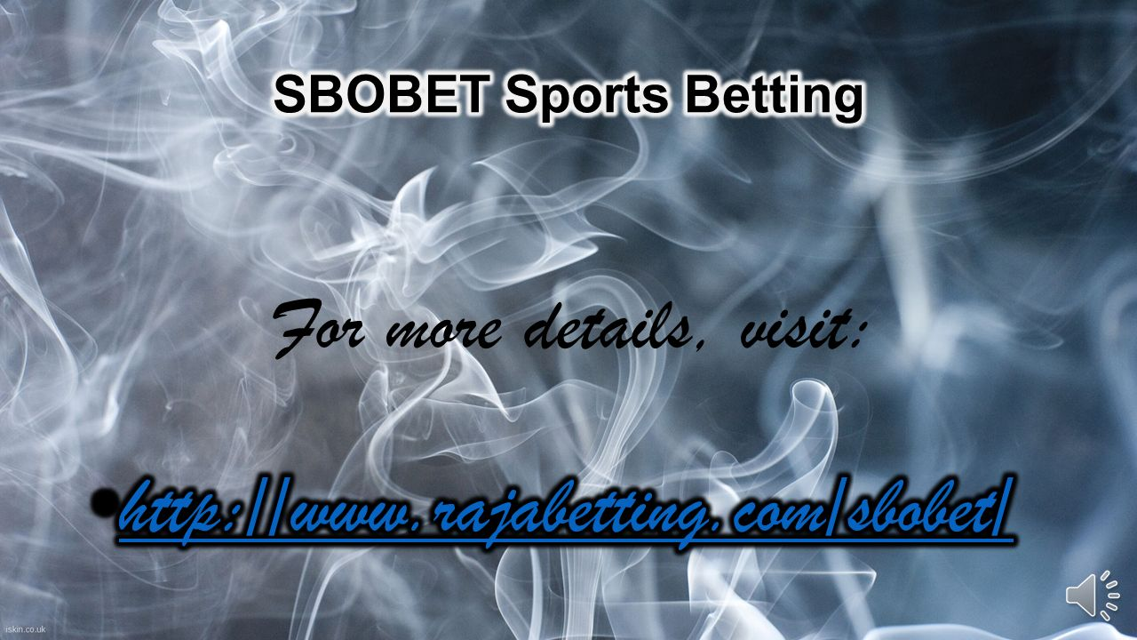 Thousands of people place bets on football, the sport with maximum number of fans worldwide. Over the years, Sbobet has developed into a platform. - ppt download - 웹