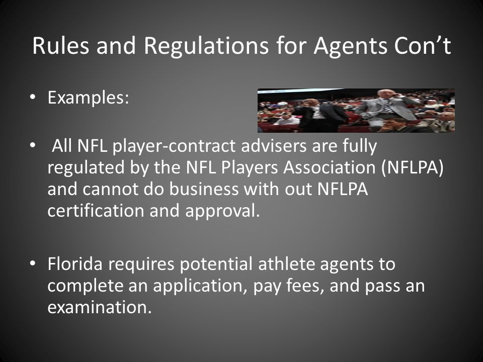 Role of A sports Agent. What is an Agent??? Agents understand the ...
