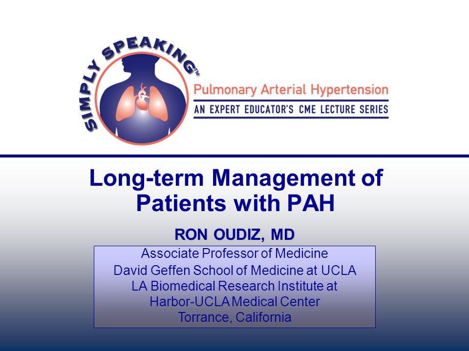 RON OUDIZ, MD Associate Professor of Medicine David Geffen