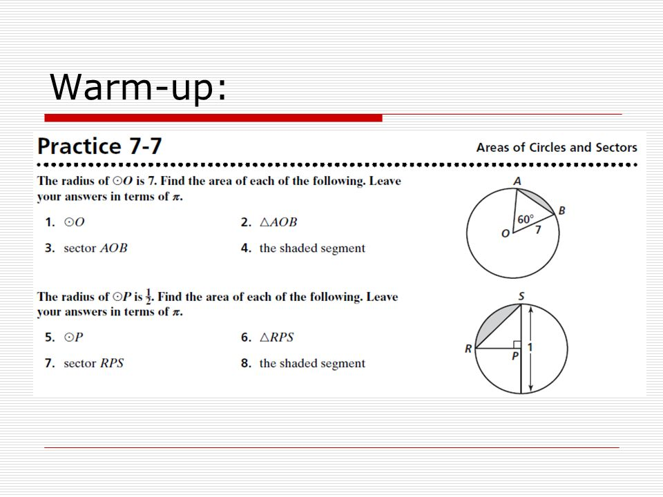 Chapter 7 Review April 12 Warm Up 15 Mins Practice Workbook