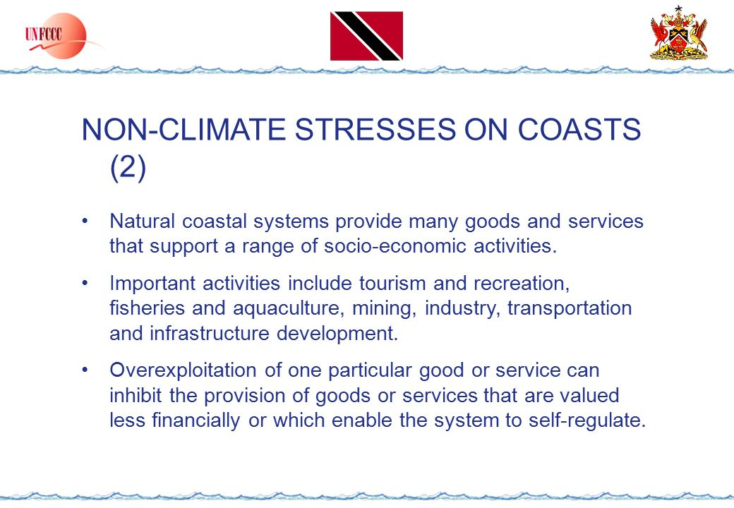 TECHNOLOGY FOR ADAPTATION TO CLIMATE CHANGE IN COASTAL ZONES