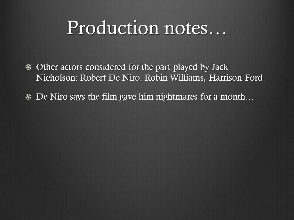 film robin williams robert de niro