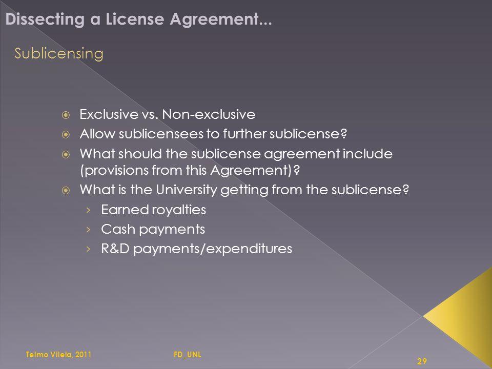 1 Licensing Dissecting A License Agreement Telmo Vilela Telmo Vilela