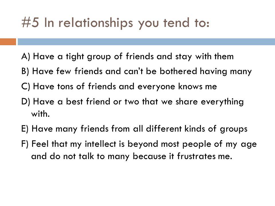 having few friends