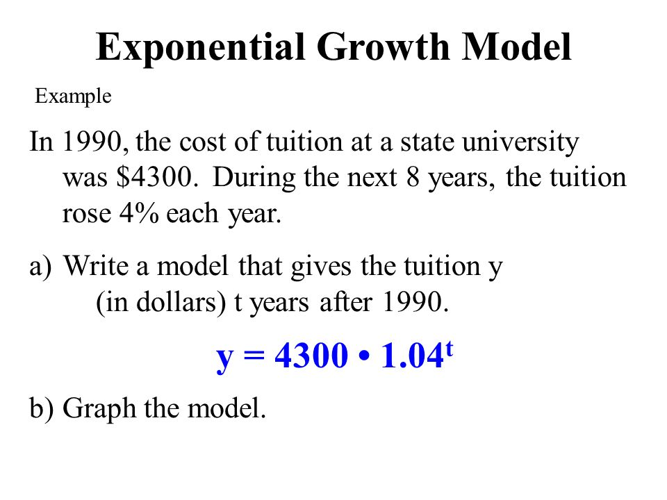 Exponential Growth Decay In Real Life Chapters 81 Ppt Download