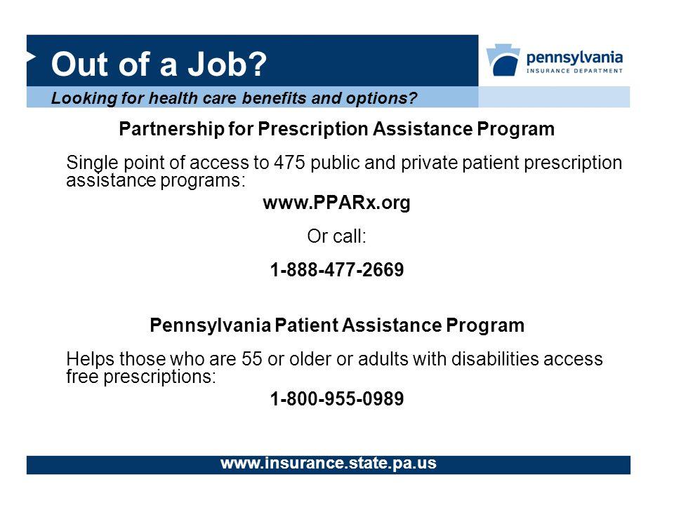 in program basic Adult pennsylvania insurance