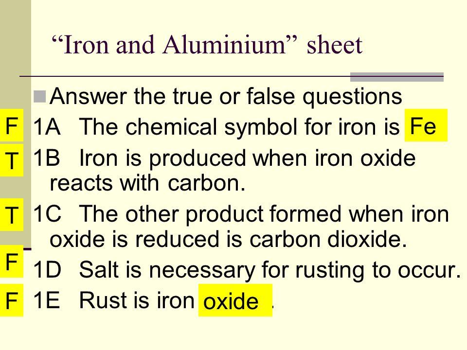 Iron And Aluminium Miss Jan Iron And Aluminium Slos Investigate The