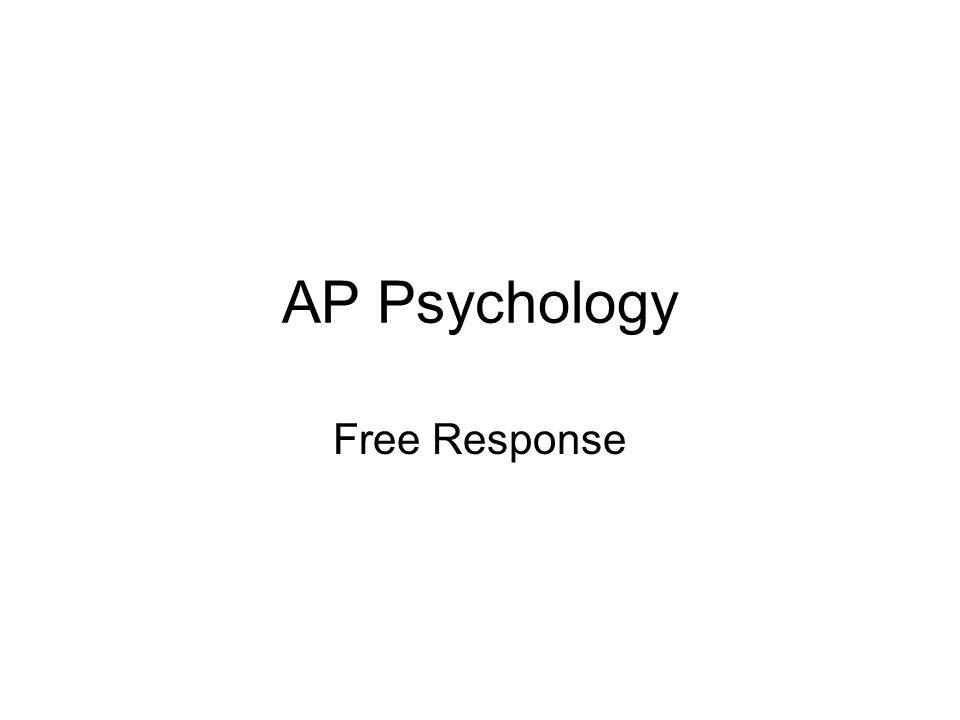 ap psychology essay help Ap introduction to psychology is a challenging class get through the year with the help of an expert tutor by your side whether you need help picking a topic for an essay on developmental psychology or want to review the history of psychology, our all-star tutors are here for you.