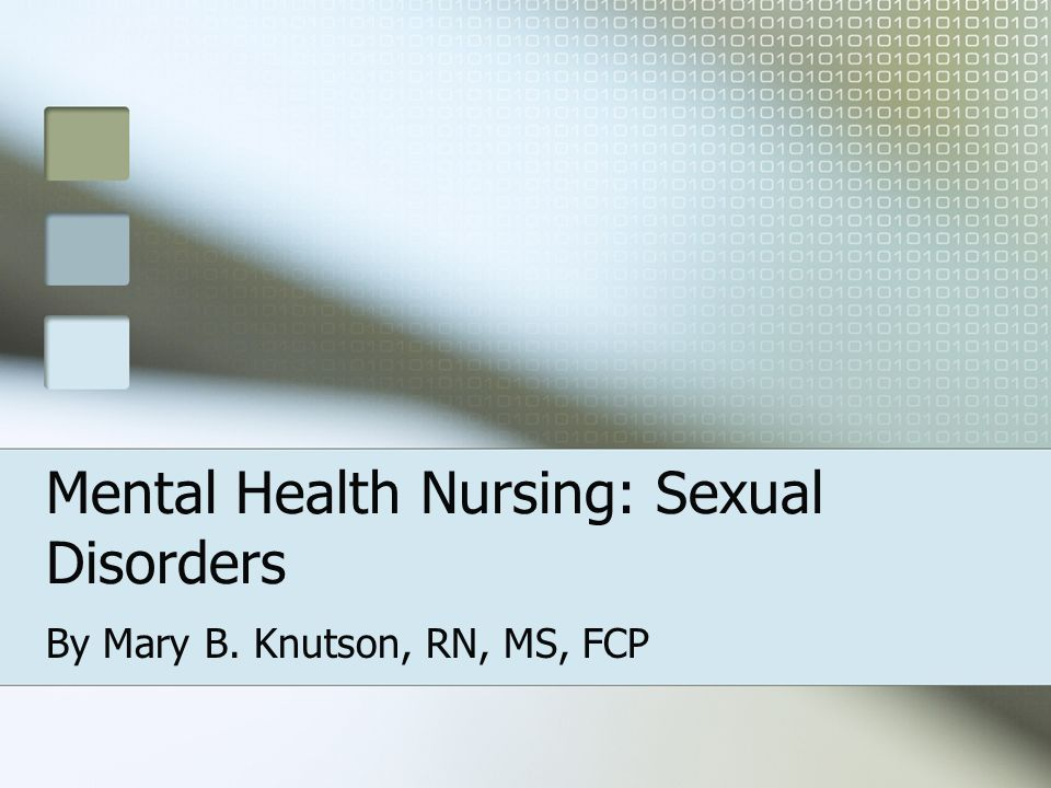 Sexuality definition nursing