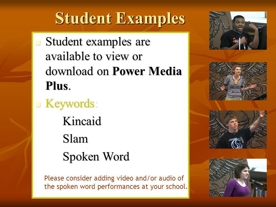 What is Spoken Word Poetry? Spoken word poetry is poetry that is