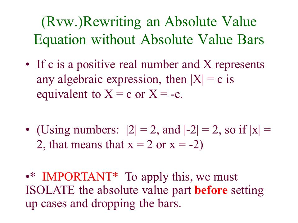Some equations that are not quadratic can be written as quadratic equations using an appropriate substitution.