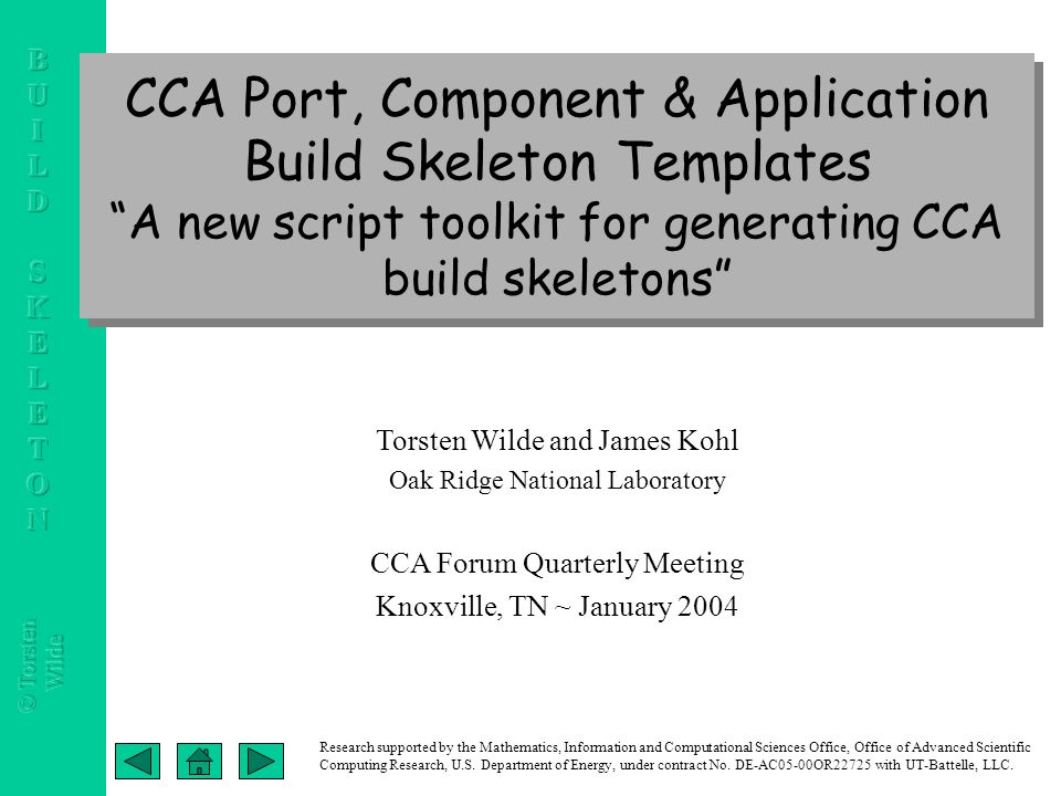 Cca port component application build skeleton templates a new cca port component application build skeleton templates a new script toolkit for generating cca altavistaventures Images