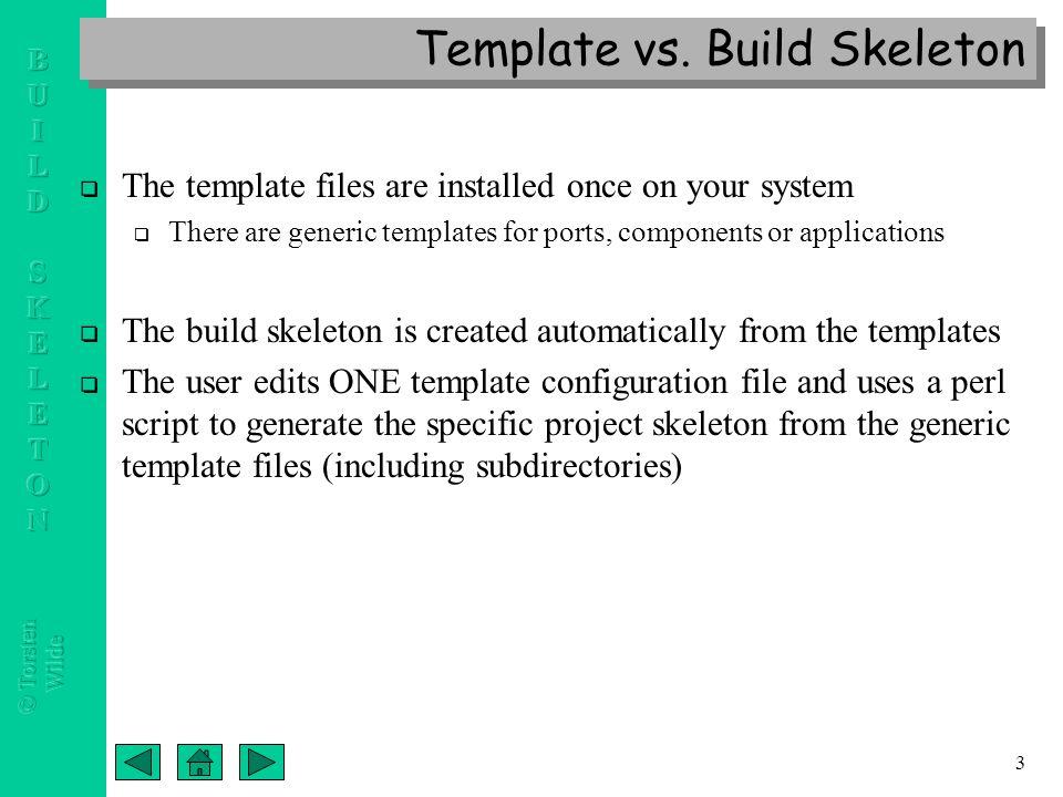 "CCA Port, Component & Application Build Skeleton Templates ""A new ..."