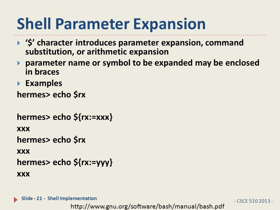 CSCE Systems Programming Lecture 09 –Shells CSCE 510 Feb 13