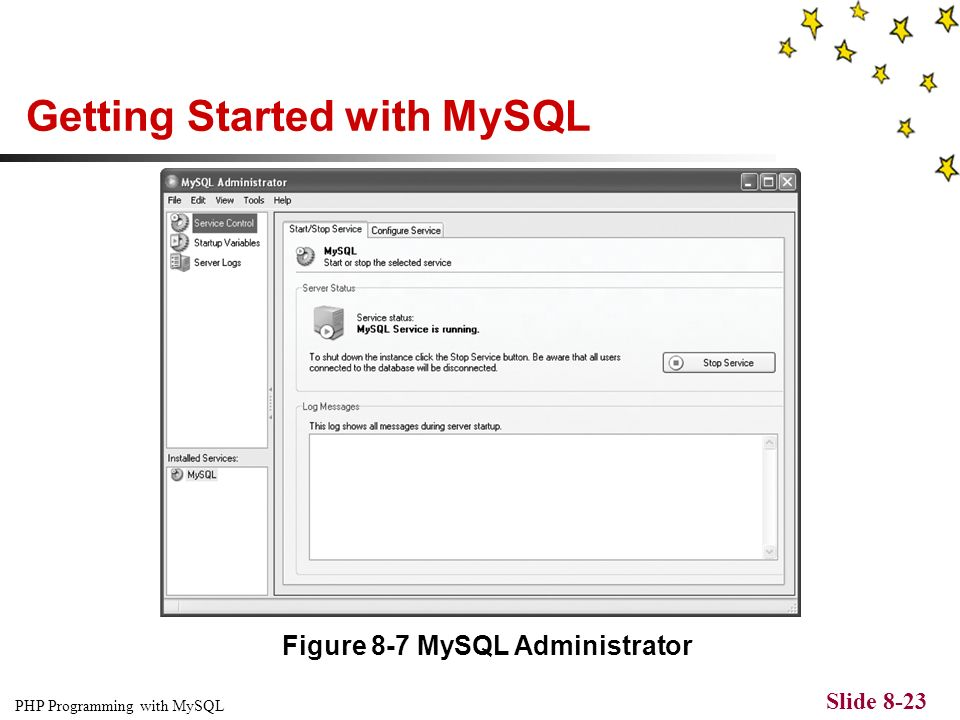 PHP Programming with MySQL Slide 8-1 CHAPTER 8 Working with