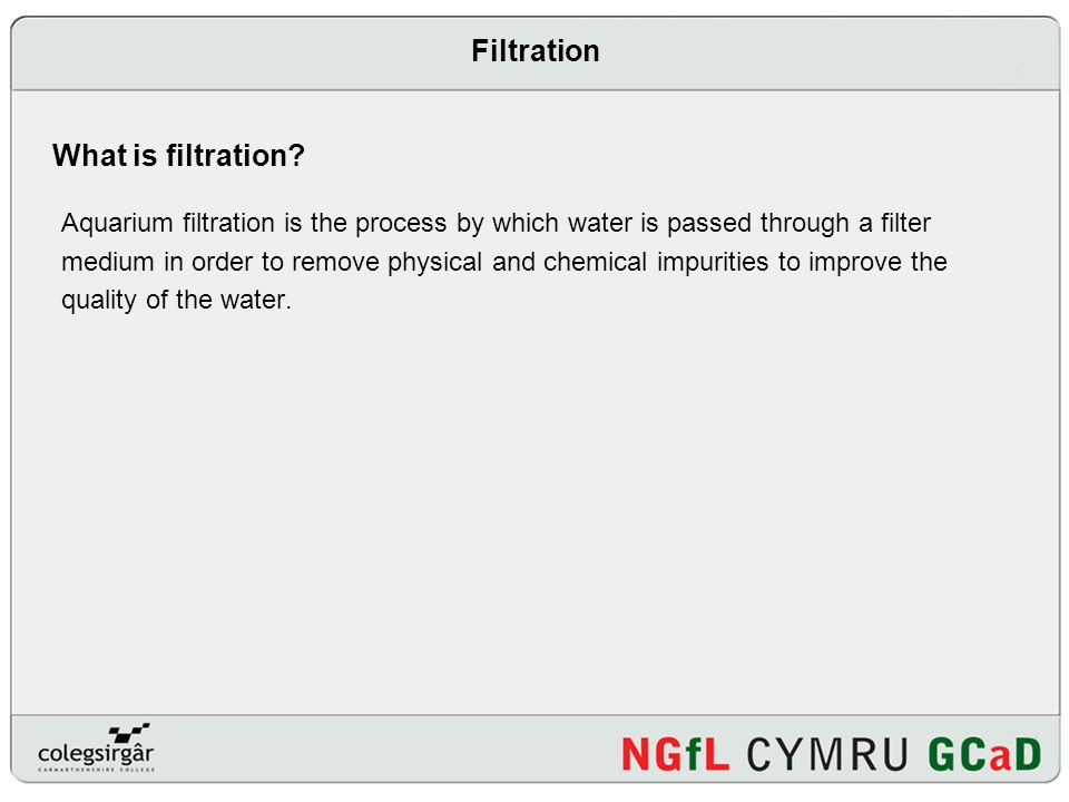 FILTRATION Presentation on FILTRATION  Introduction What is
