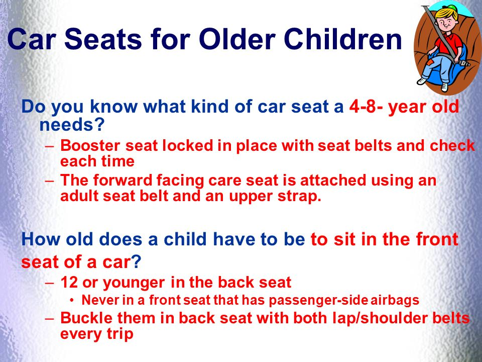 17 Car Seats For Older Children Do You Know What