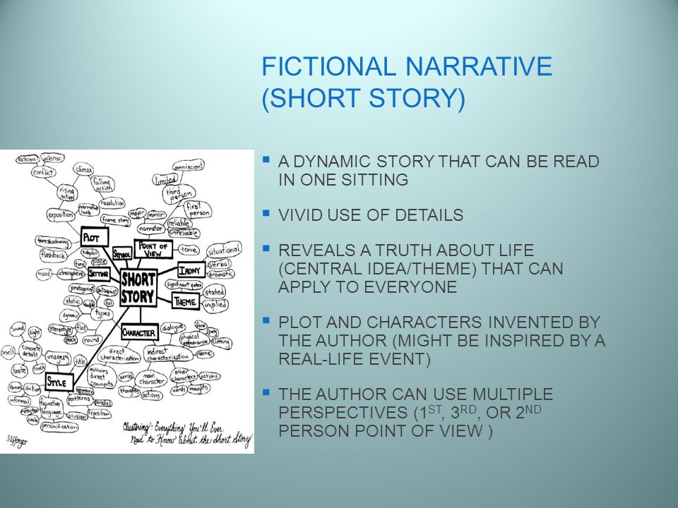fictional narrative story