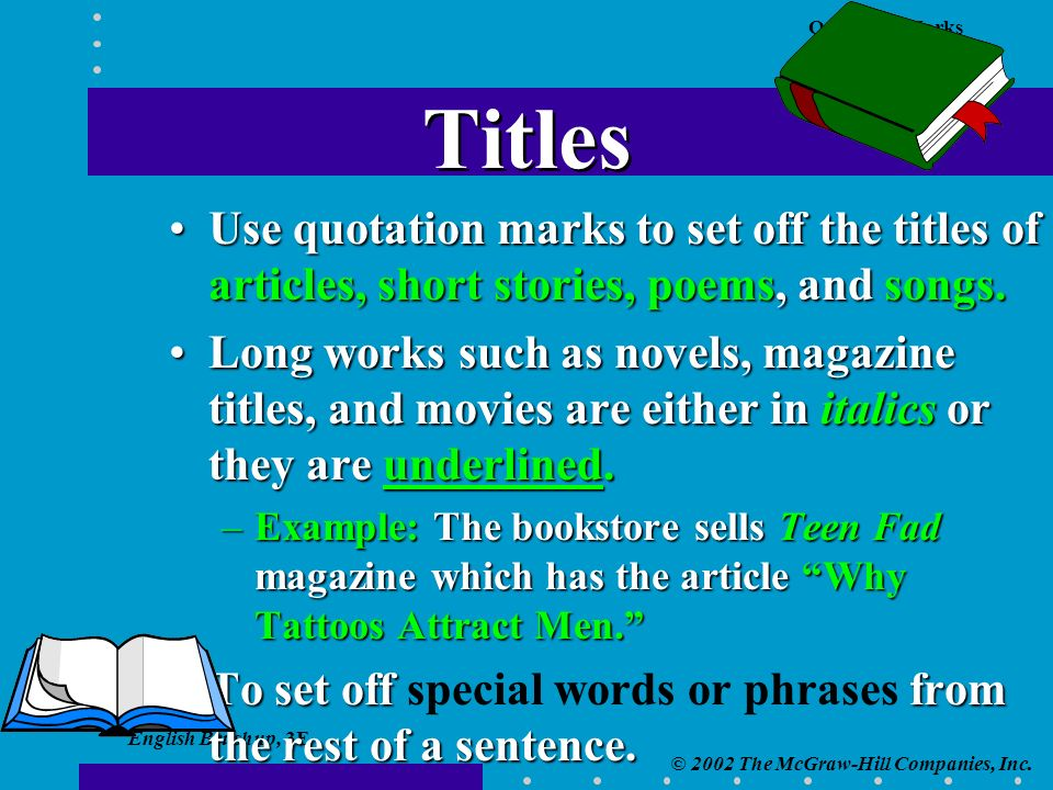 English Brushup, 3E © 2002 The McGraw-Hill Companies, Inc.
