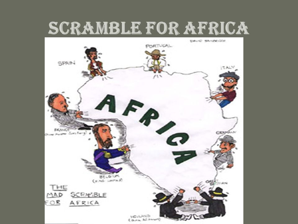 2 Scramble For Africa