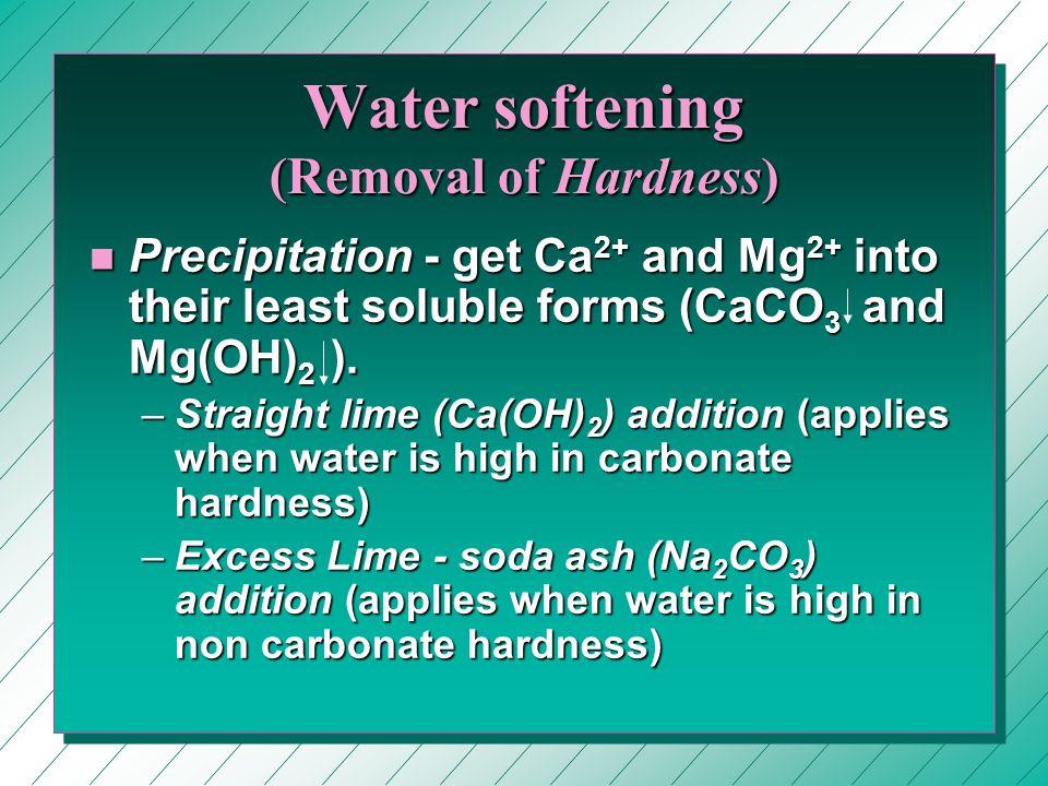 9 Water Softening