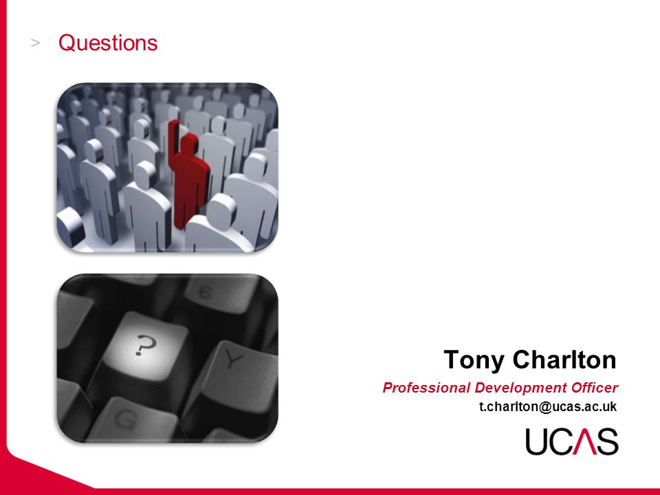 Questions Tony Charlton Professional Development Officer