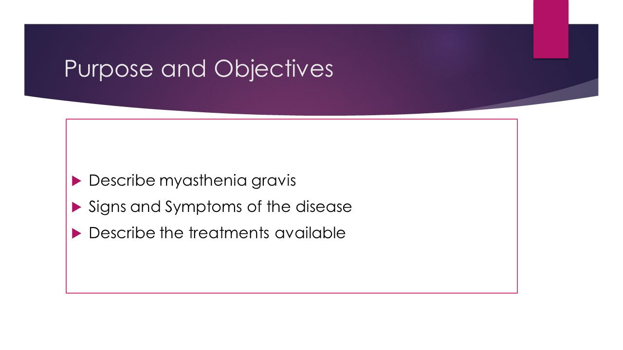 Myasthenia - what it is Symptoms, causes and treatment of myasthenia 46