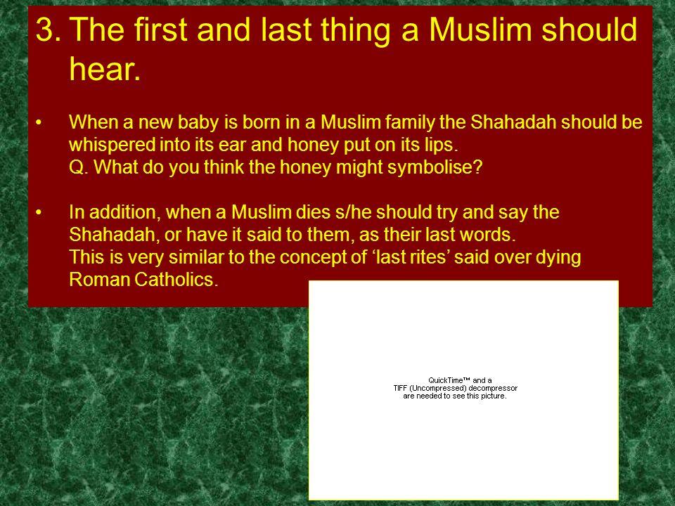 The Pillars of Islam 1  The Shahadah Shahadah This word means 'creed