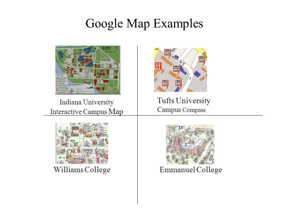 Campus Google Map Applications Copyright Robert Workman 2006 This