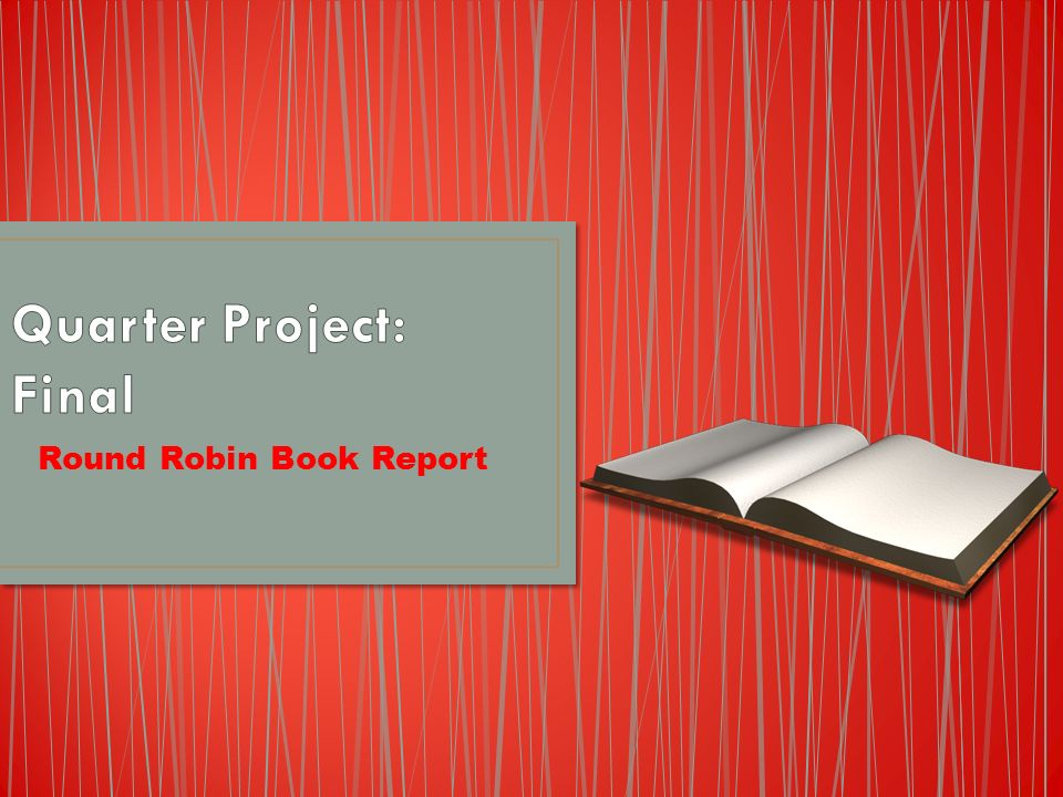 Round robin book report complete a plot stages diagram for the 1 round robin book report ccuart Gallery