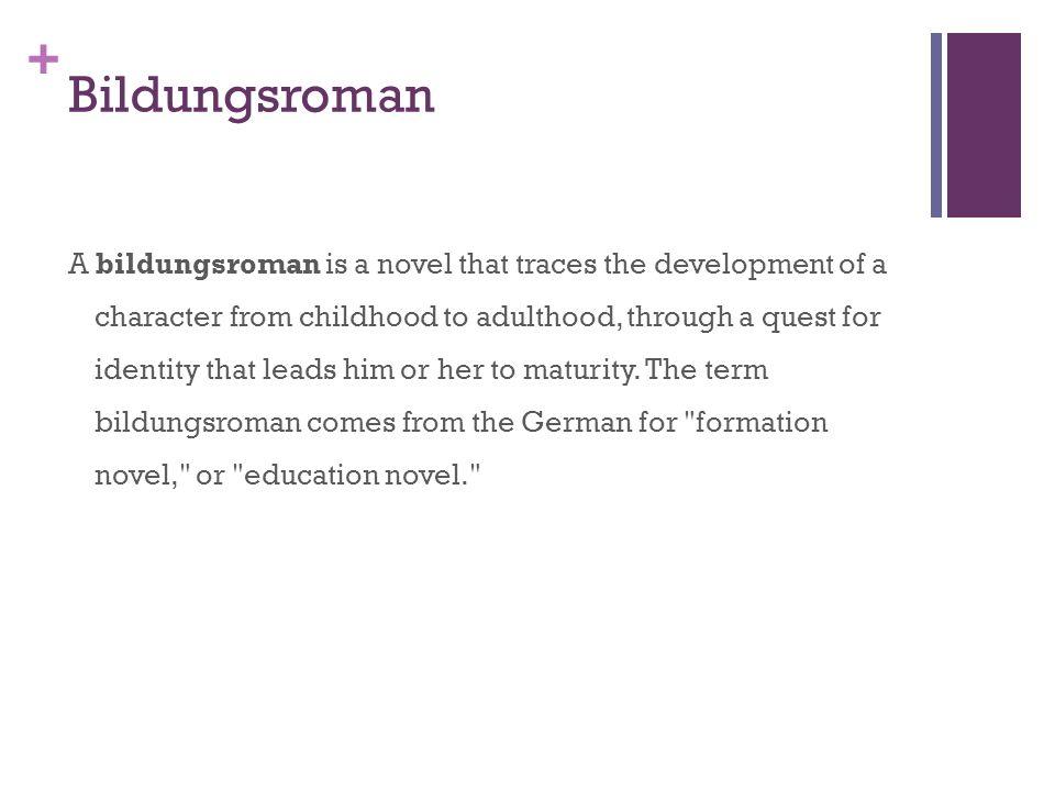 bildungsroman literary term