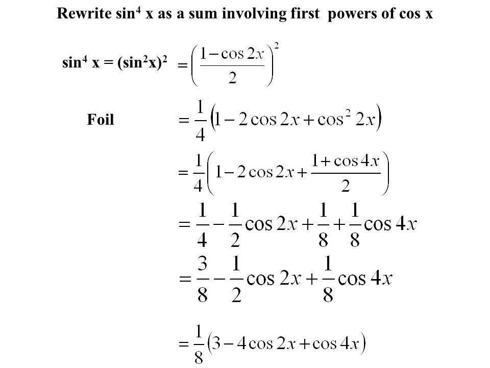 5 5 Multiple-Angle and Product-Sum Formulas  Find all solutions in