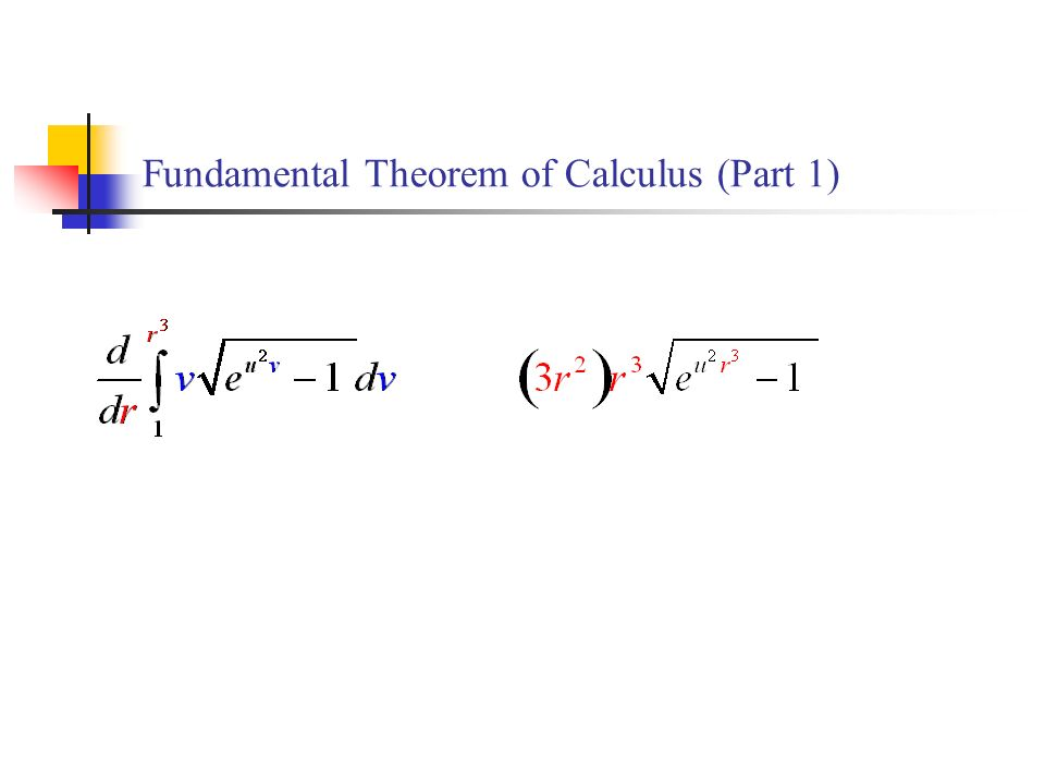Fundamental Theorem of Calculus (Part 1)