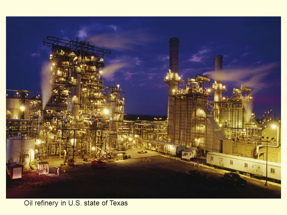 Oil refinery in U.S. state of Texas