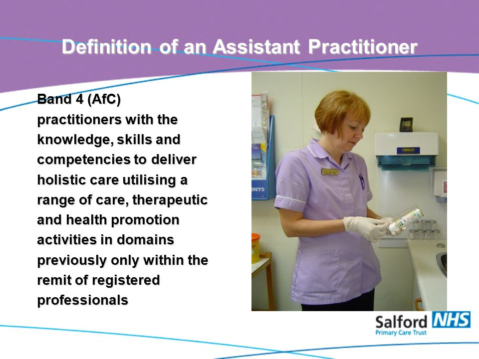 Assistant Practitioners in Primary Care The Skills Escalator in ...