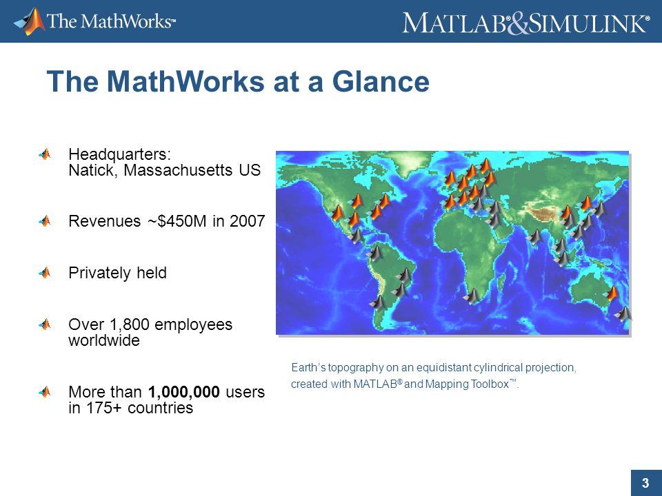 2008 The MathWorks, Inc  ® ® Parallel Computing with MATLAB